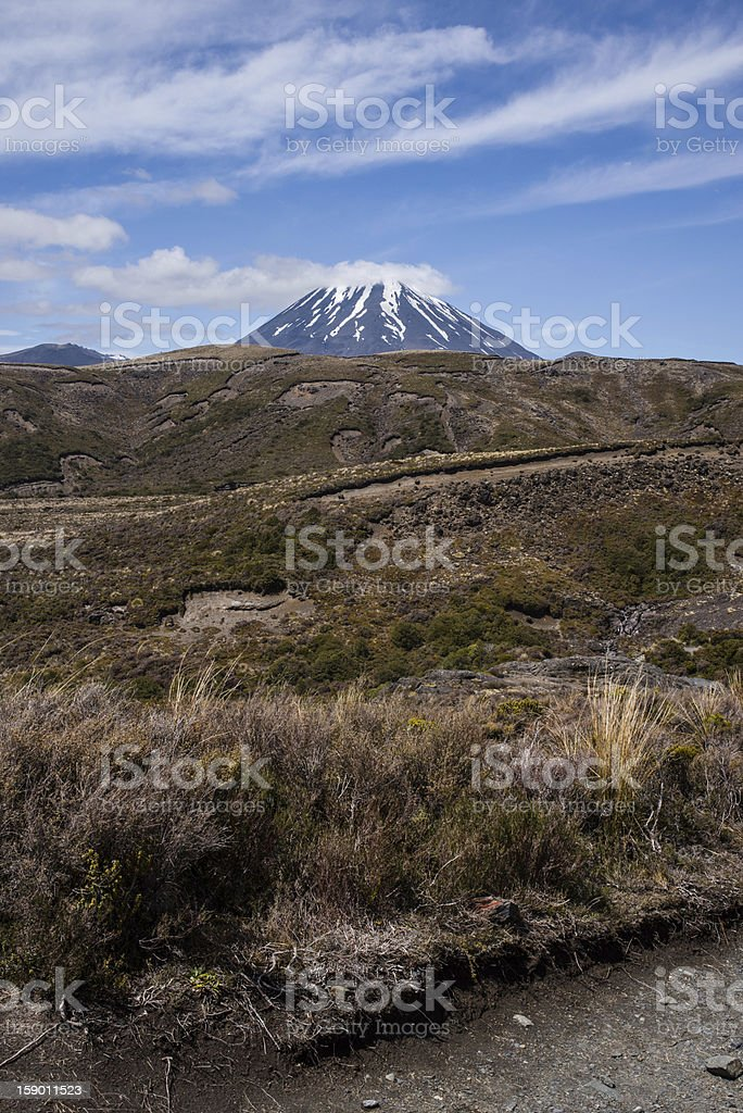 Volcanic Mount Doom royalty-free stock photo