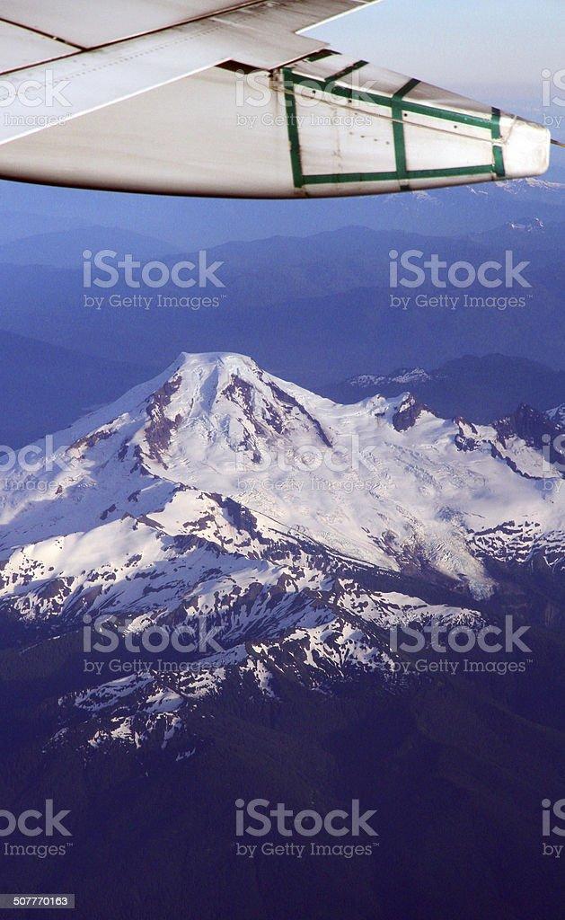 Volcanic Overflight royalty-free stock photo