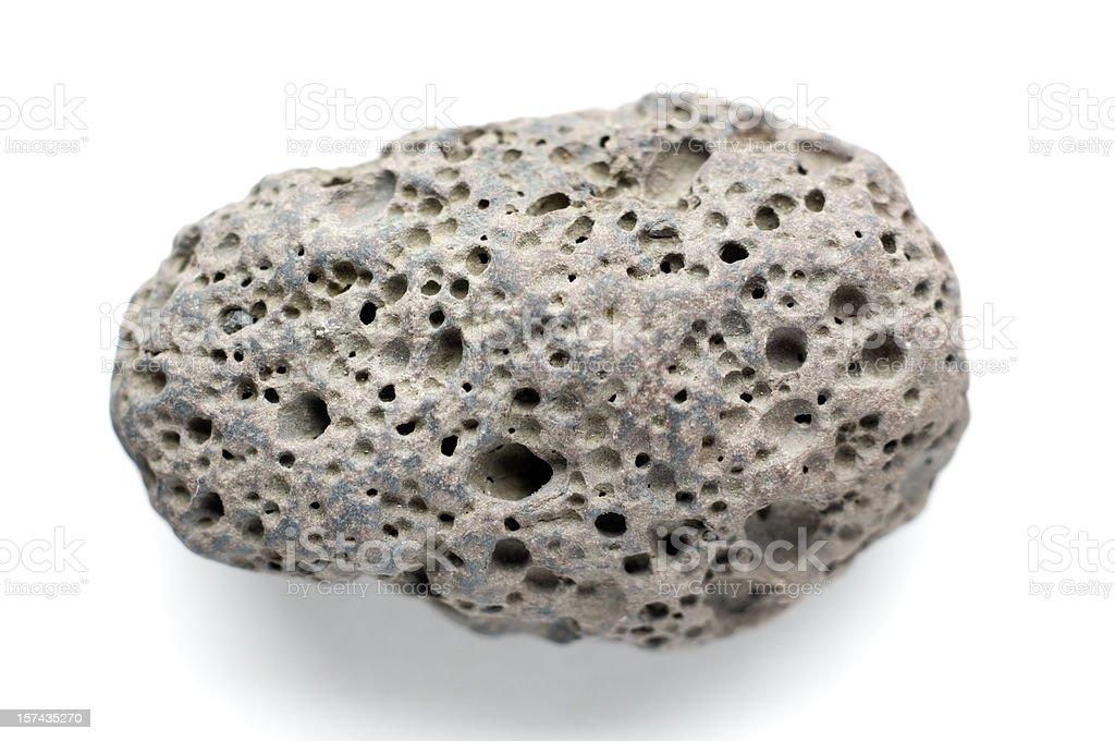 Volcanic Pebble royalty-free stock photo