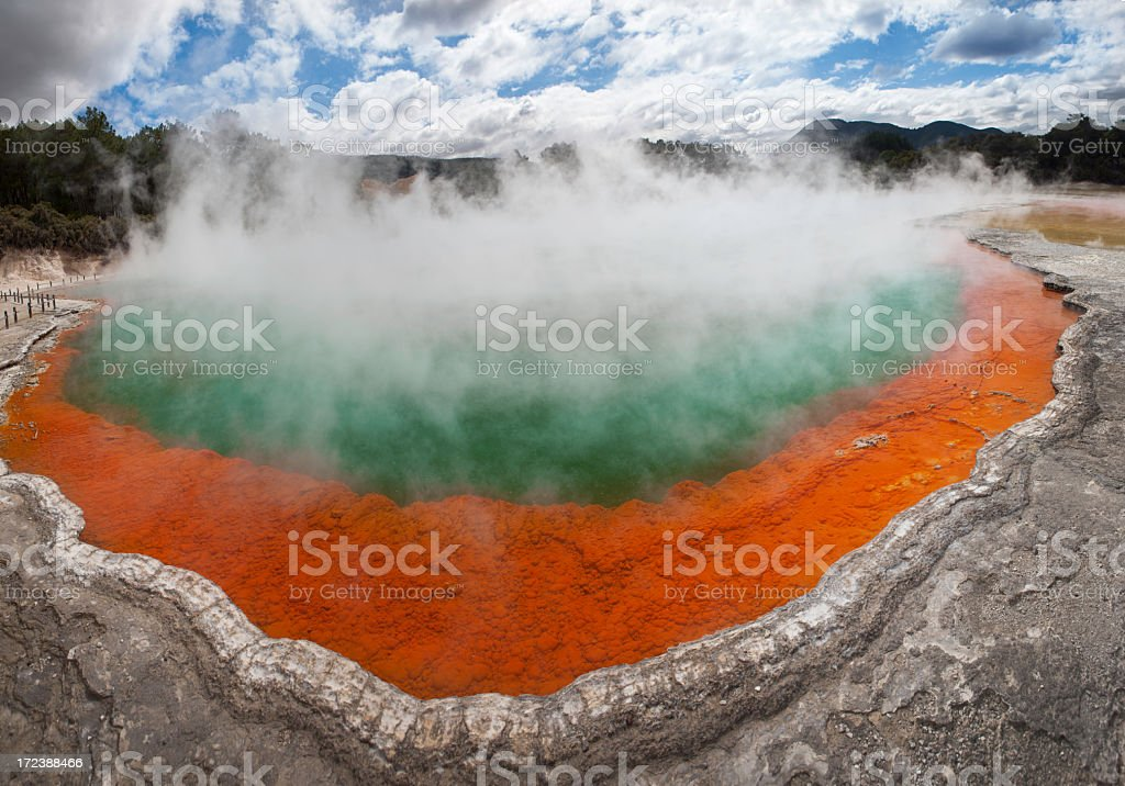 Volcanic pool royalty-free stock photo