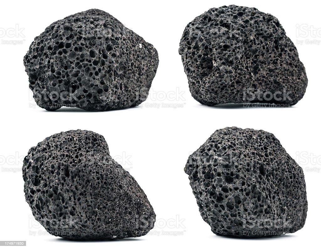 Volcanic rocks stock photo