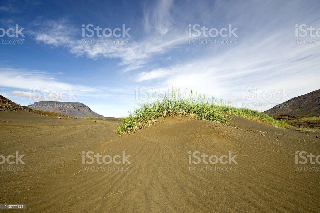 Volcanic Sand Dune stock photo