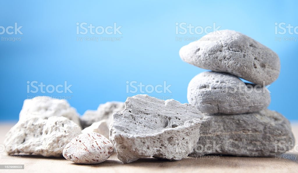 Volcanic stones. royalty-free stock photo