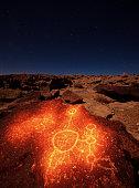 Volcanic Tablelands Petroglyph