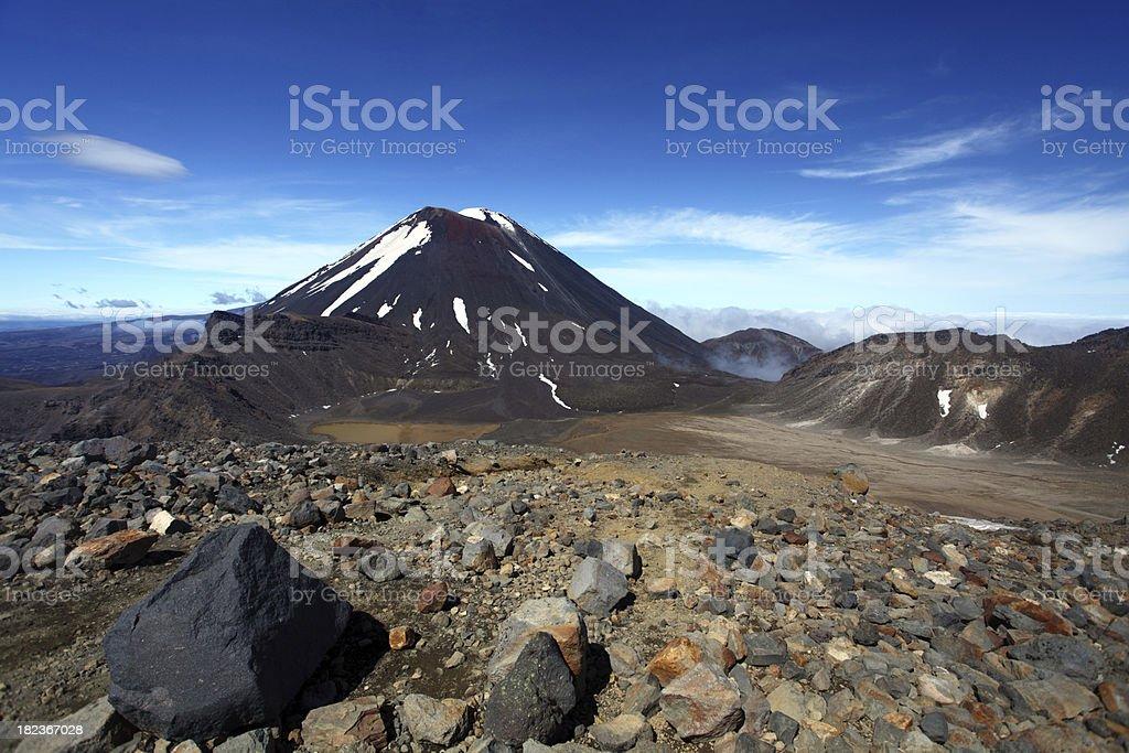 Volcanic Terrain Scenics stock photo