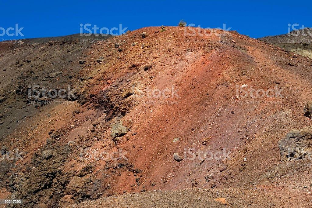 Volcanic Texture. royalty-free stock photo