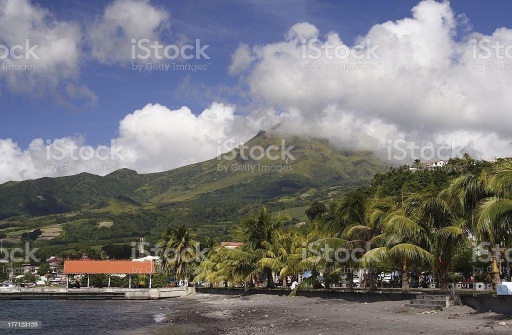 Volcano Beach royalty-free stock photo