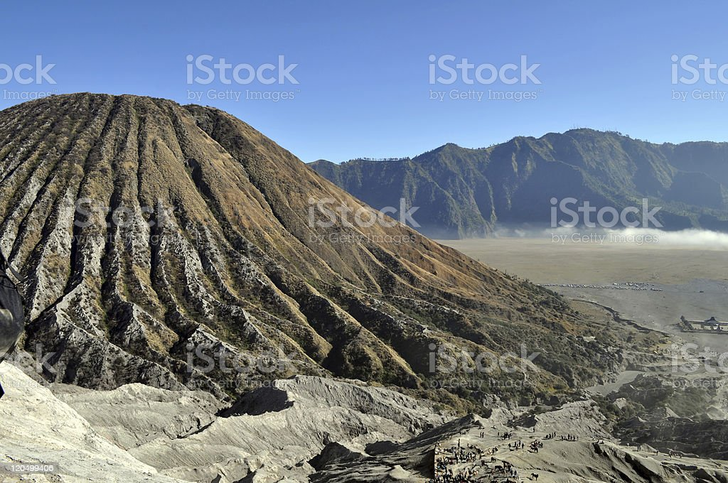 Volcano Bromo royalty-free stock photo