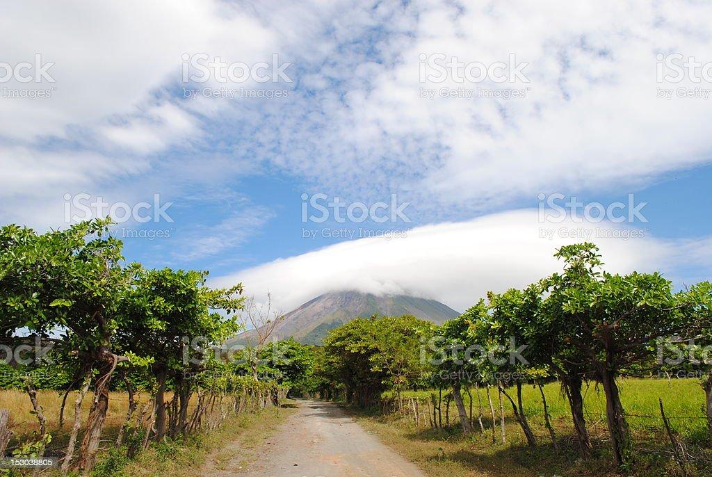 Volcano Concepcion stock photo