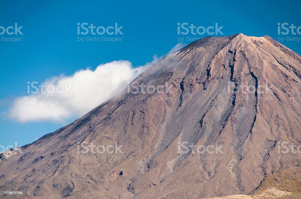 Volcano Cone royalty-free stock photo