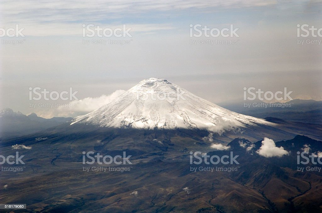 Volcano Cotopaxi Ecuador stock photo