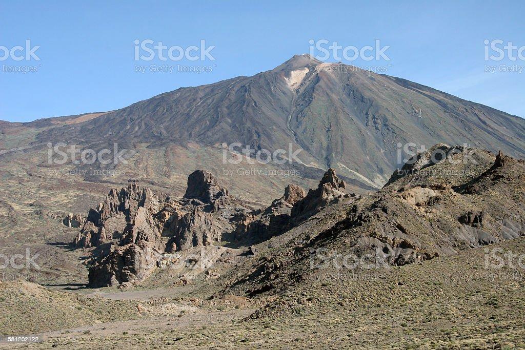 Volcano El Teide of Pico del Teide stock photo
