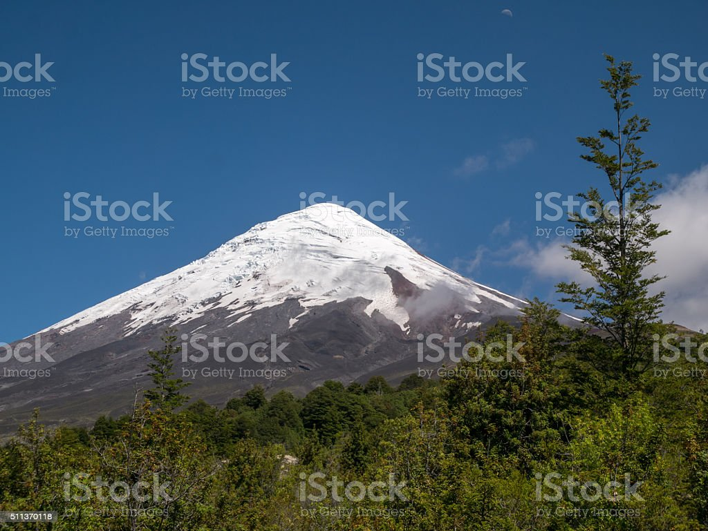 Volcano Osorno, Chile royalty-free stock photo