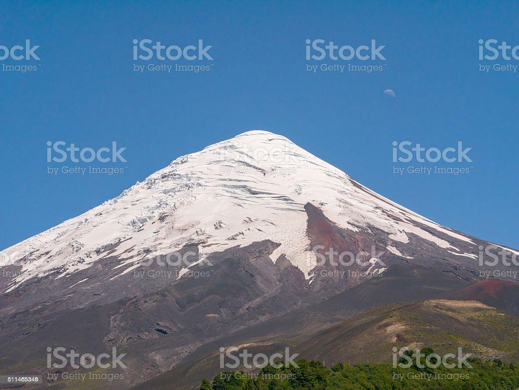 Volcano Osorno, Chile royalty-free stock photo