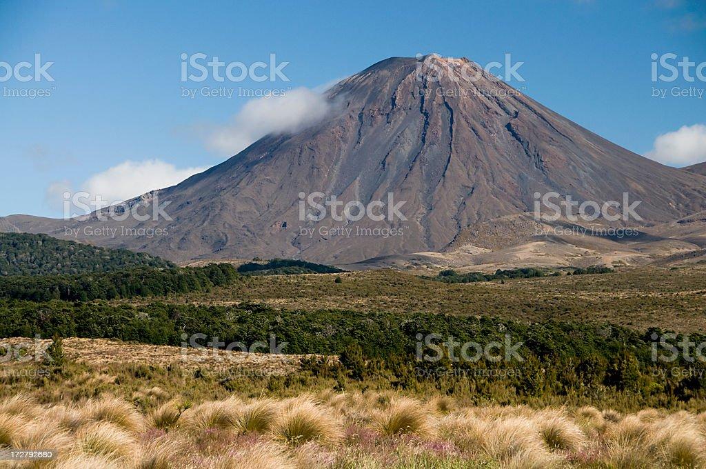 Volcano Peak royalty-free stock photo