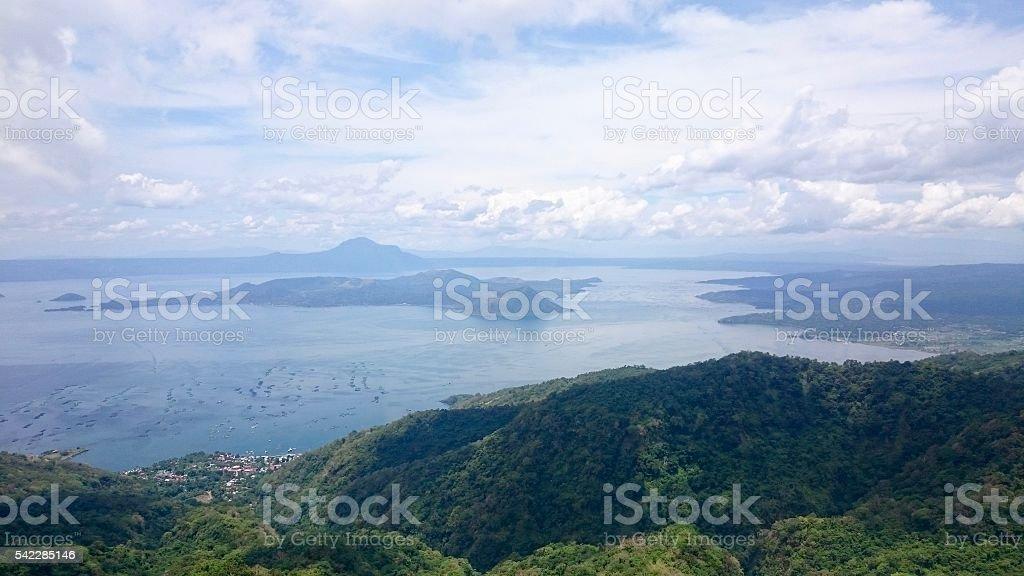 Volcano Scenery stock photo