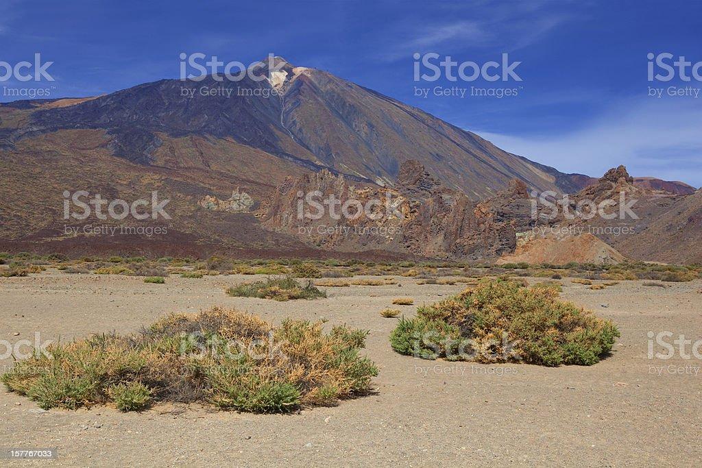 Volcano Teide on Tenerife royalty-free stock photo