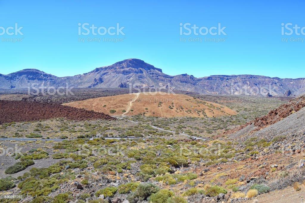 Volcano Teide. Tenerife island, Canary, Spain. stock photo