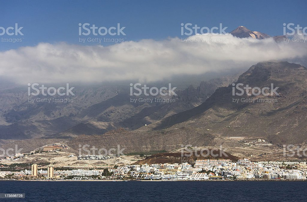 Volcano, Tenerife, Spain stock photo