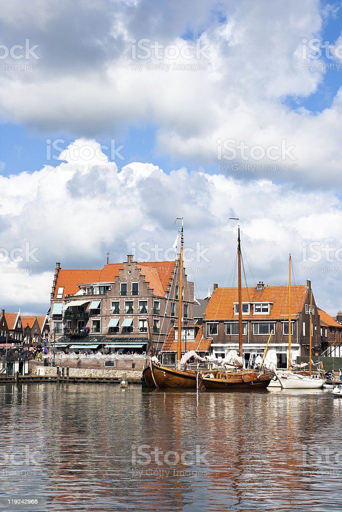 Volendam - Holland royalty-free stock photo