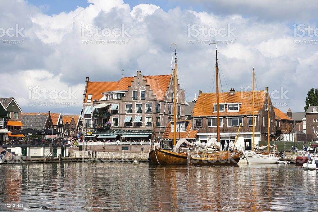Volendam - Holland stock photo