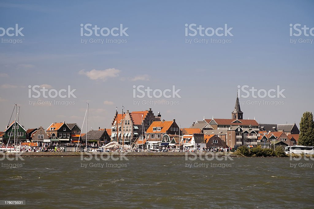 Volendam, Holland (XXL) stock photo