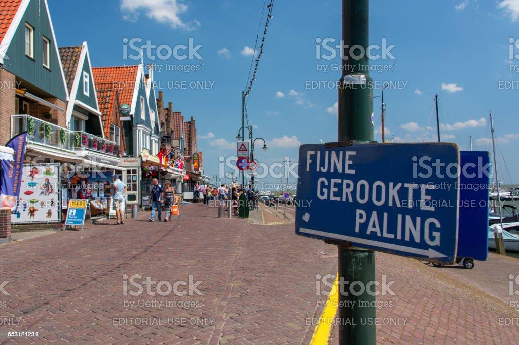 Volendam stock photo