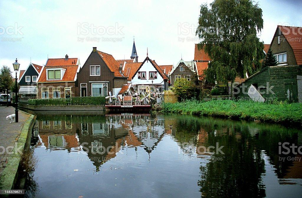 Volendam, The Netherlands stock photo
