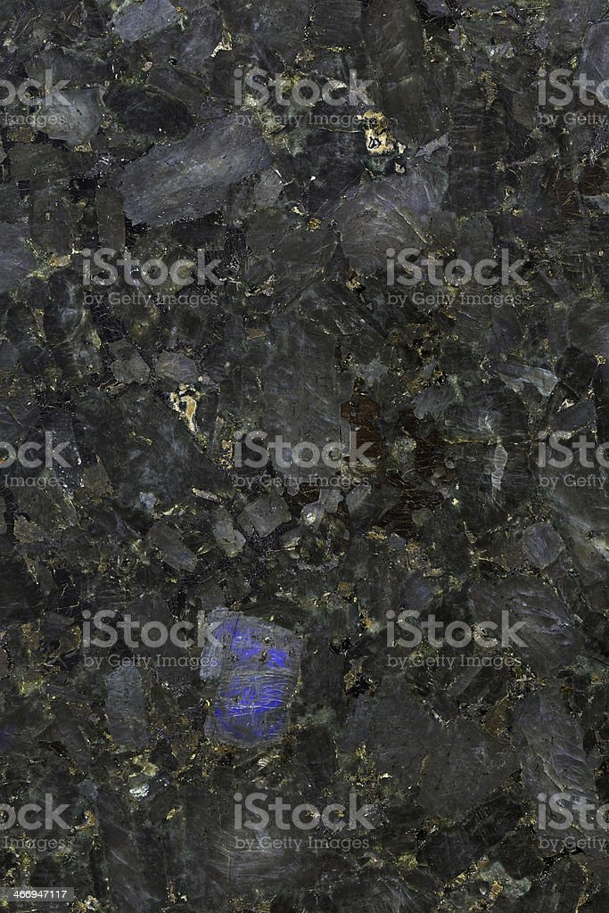 Volga Blue Granite royalty-free stock photo