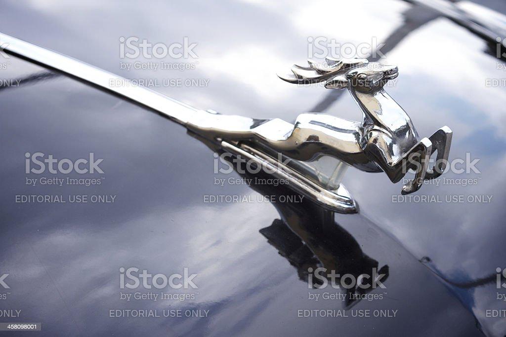 Volga Chrom Deer Lizenzfreies stock-foto