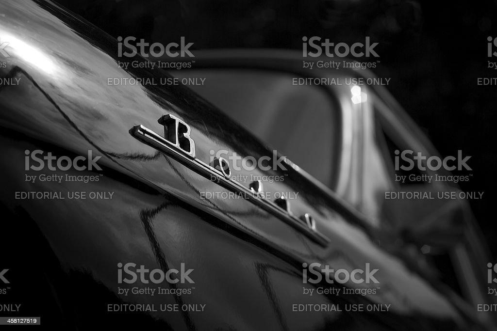 GAZ 21 Volga Emblem Lizenzfreies stock-foto