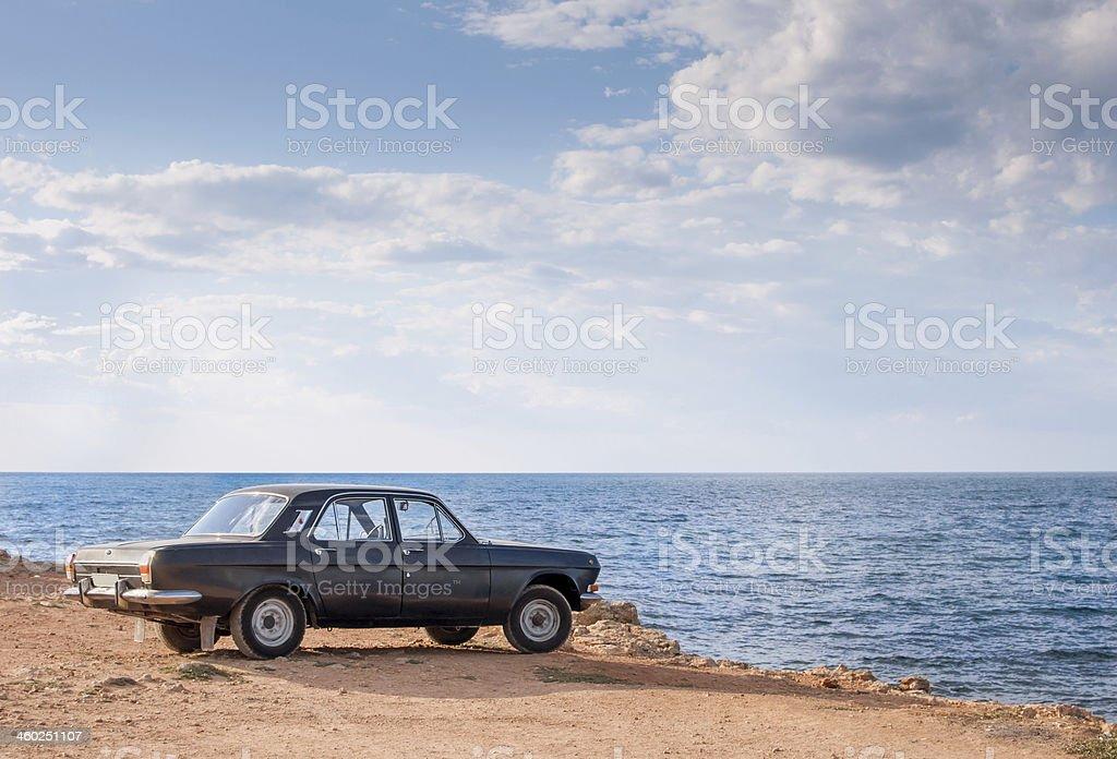 Volga  GAZ-24 stock photo