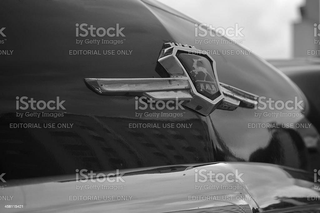 GAZ 21 Volga Kapuze Emblem Lizenzfreies stock-foto