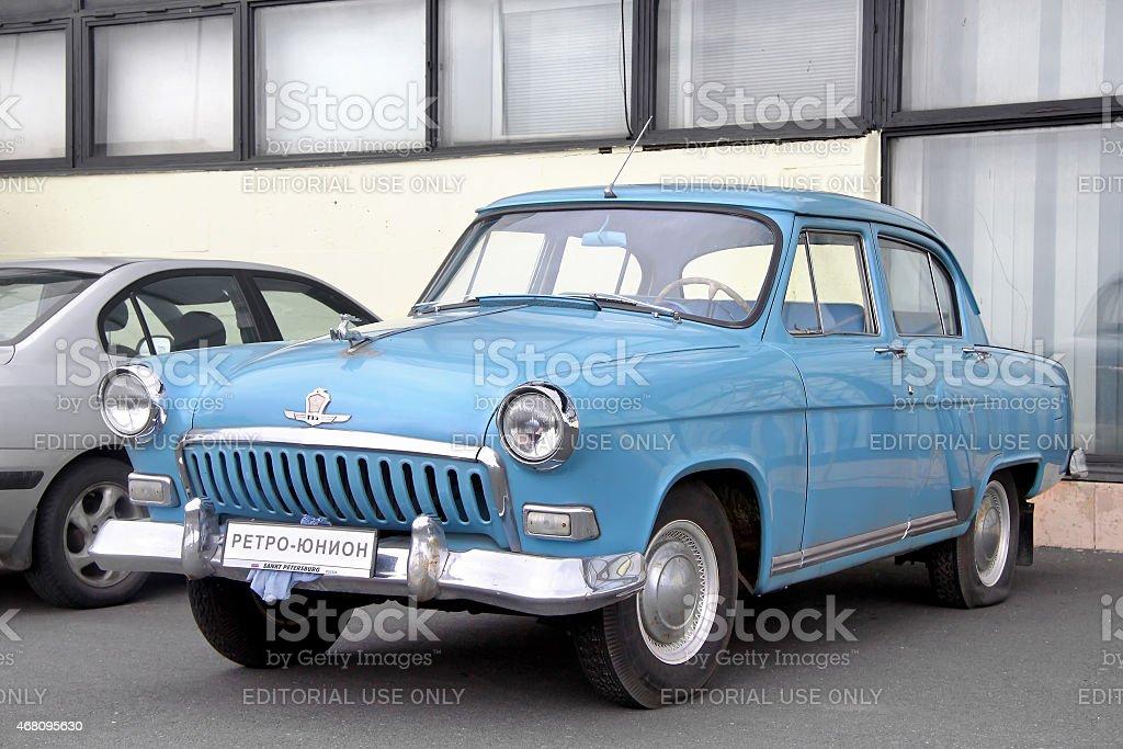 GAZ 21 Volga stock photo