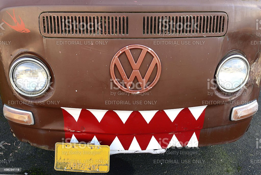 Volks Van royalty-free stock photo