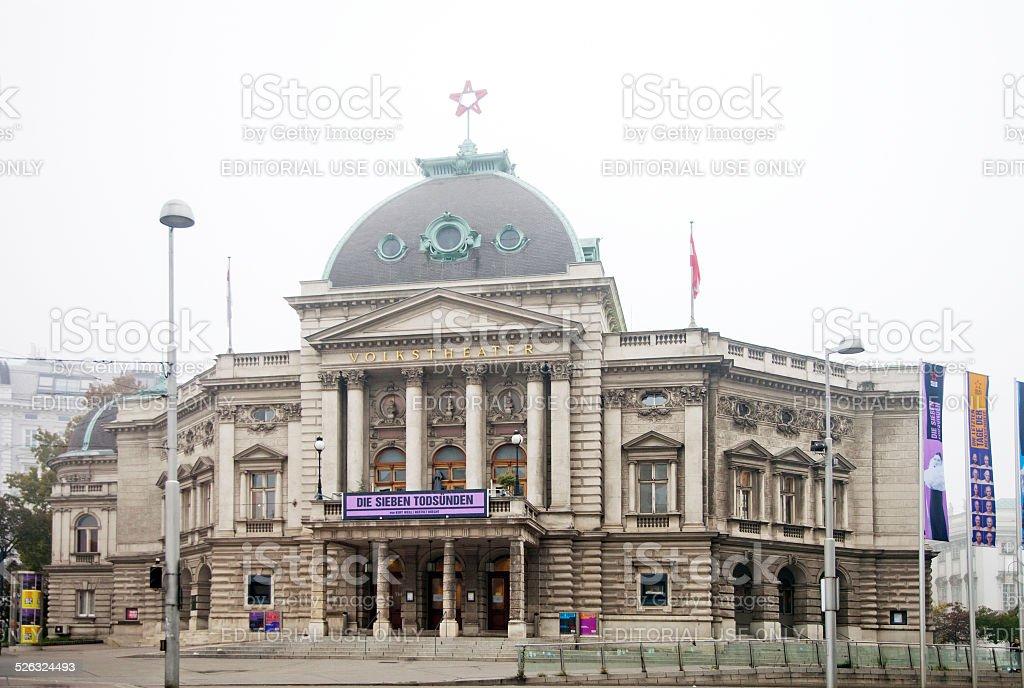 Volkstheater in Vienna stock photo