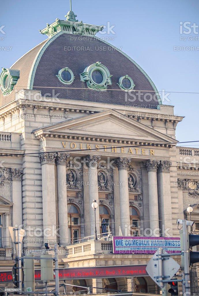 Volkstheater Vienna royalty-free stock photo