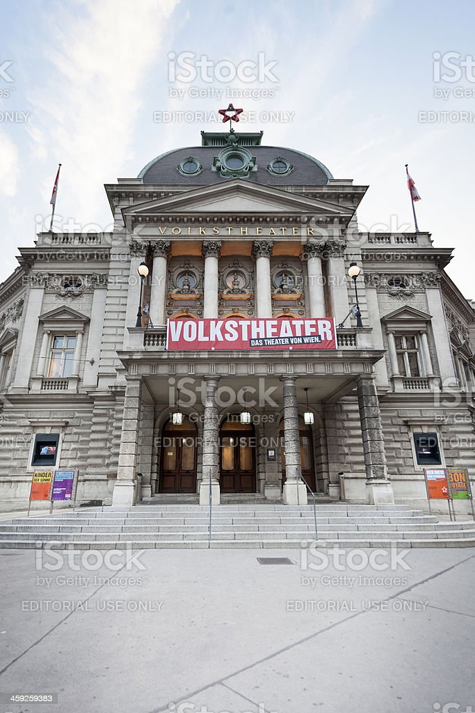 Volkstheater Wien stock photo