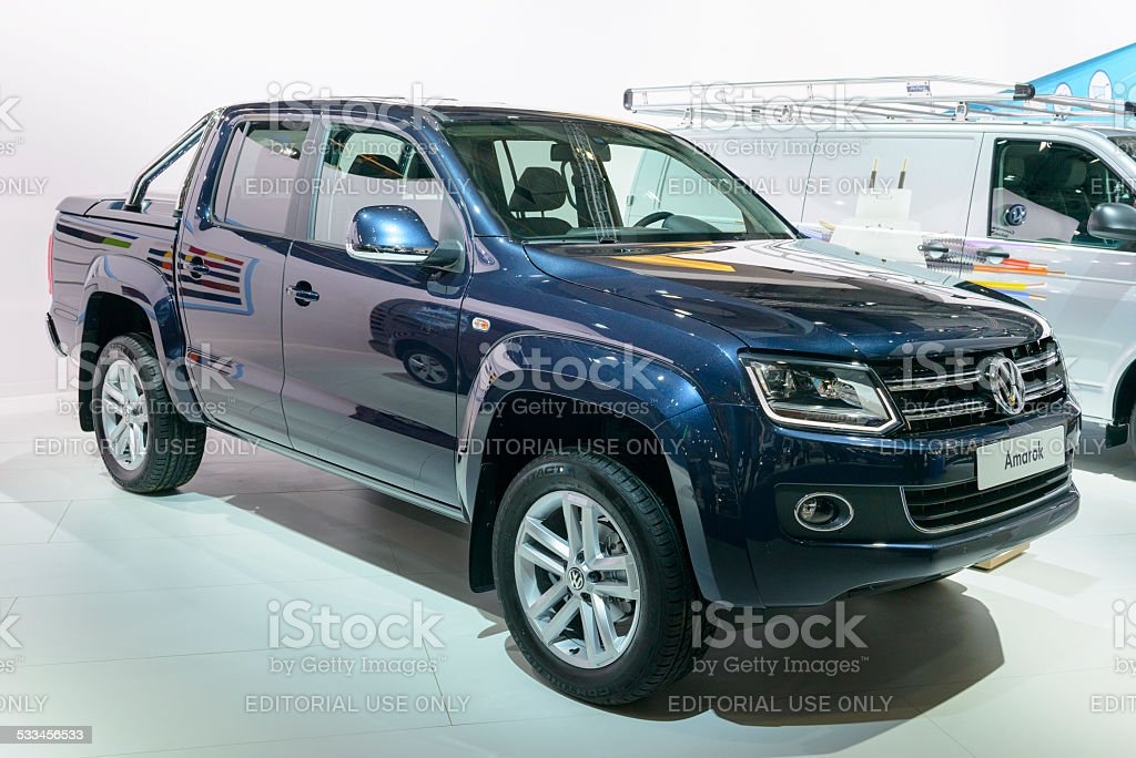 Volkswagen Amarok double cab stock photo
