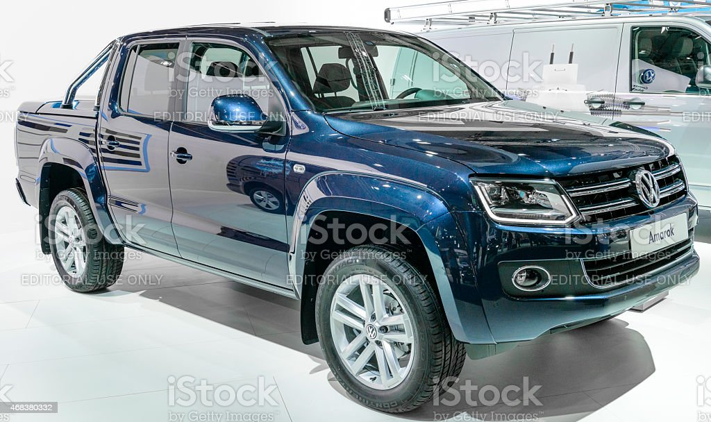 Volkswagen Amarok Highline double cab stock photo