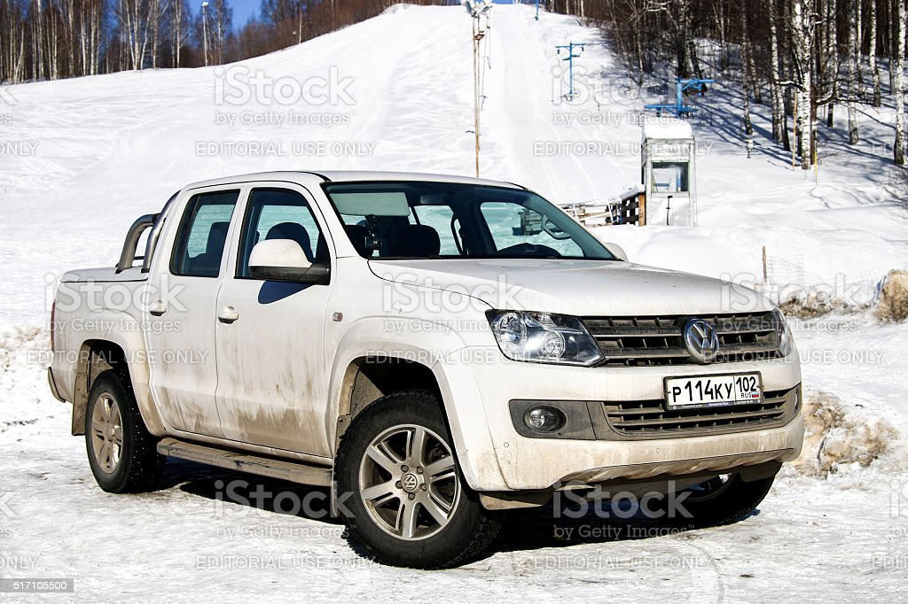 Volkswagen Amarok stock photo