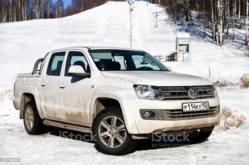 Volkswagen Amarok stock photo