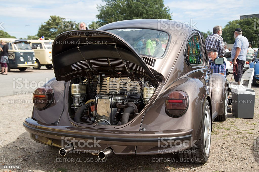 Volkswagen Beetle Meeting in Celle, Germany stock photo