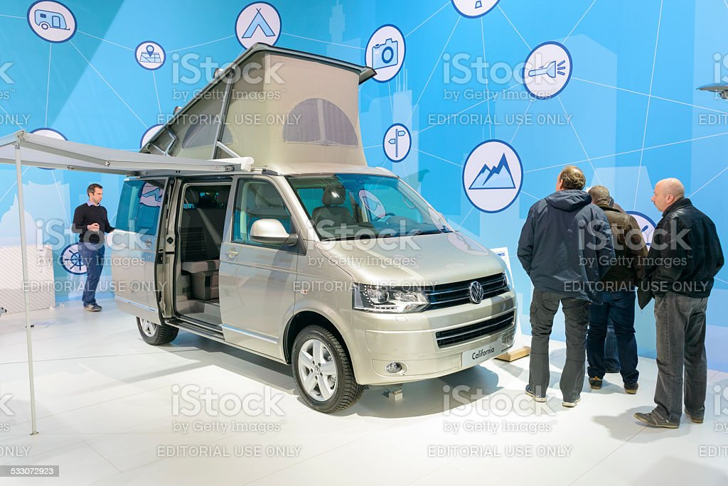 Volkswagen California Camper Van stock photo