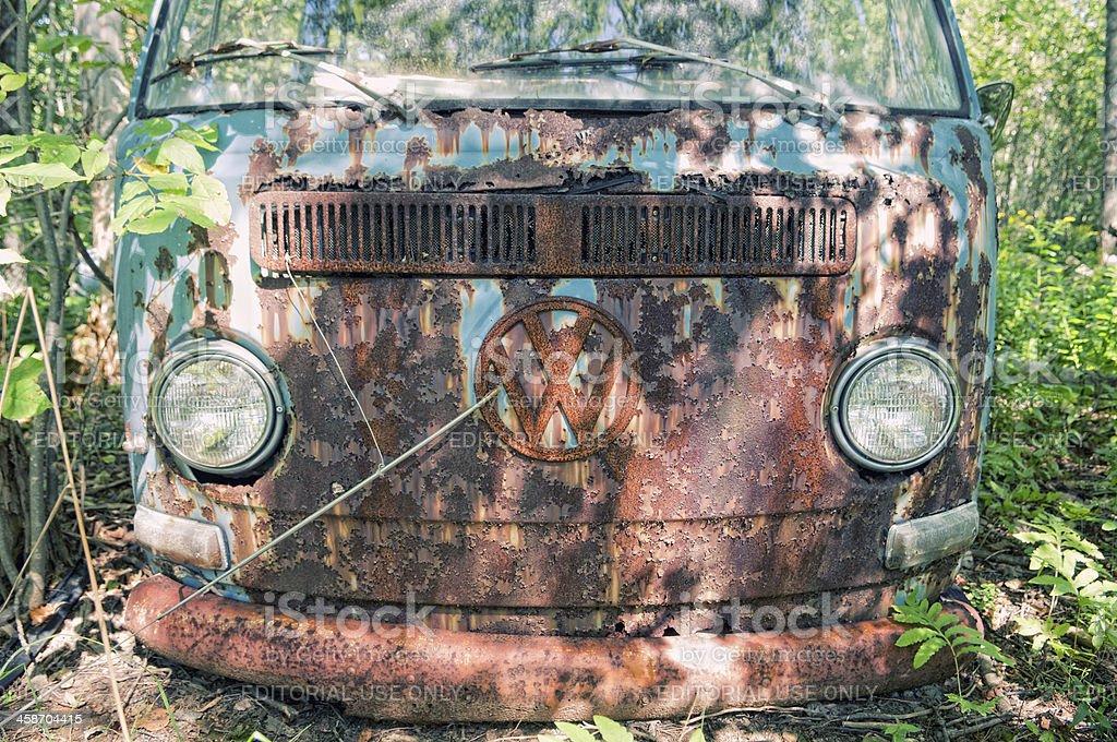 Volkswagen Camper Van stock photo