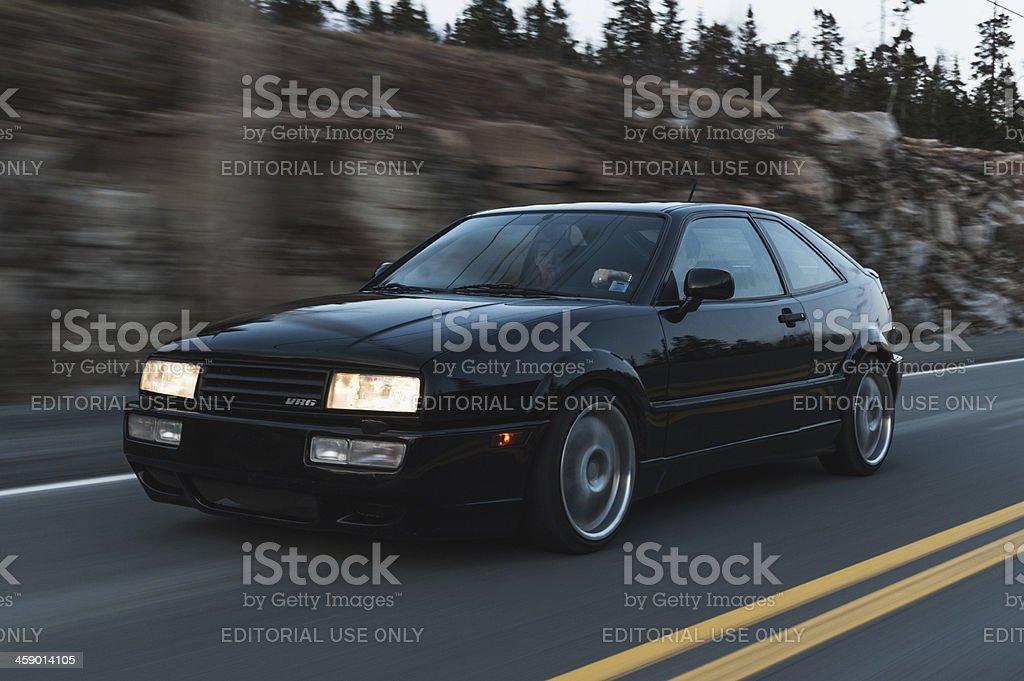 Volkswagen Corrado royalty-free stock photo