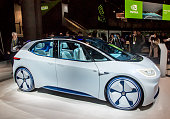 Volkswagen Electric Concept Car at CES 2017