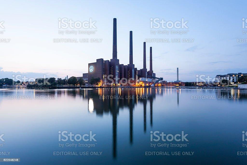 Volkswagen Factory in Wolfsburg, Germany stock photo