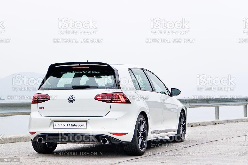 Volkswagen Golf ClubSport 2016 Test Drive Day stock photo