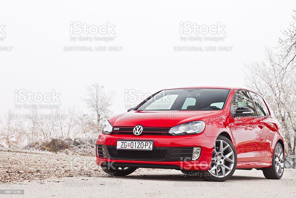 Volkswagen Golf GTI 35th stock photo